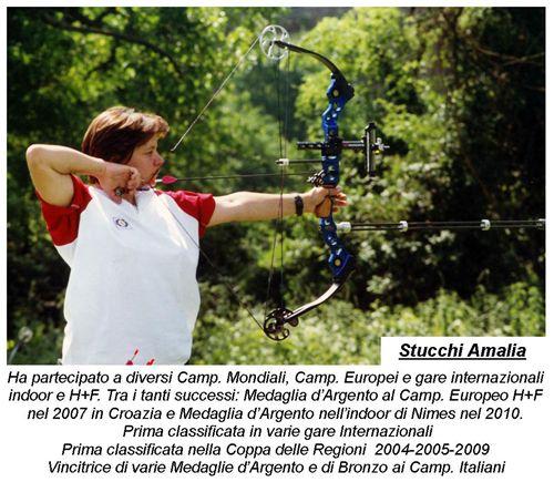 AMALIA CAMPIONESSA ITALIANA INDOOR 2013